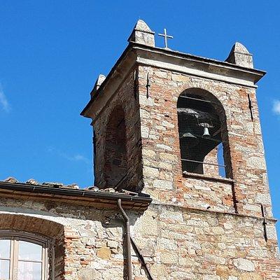 particolare del campanile