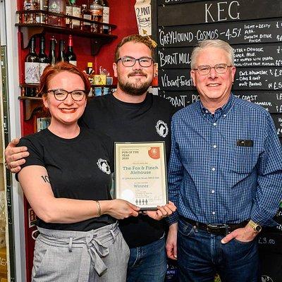 CAMRA Pub of the year winner 2020!