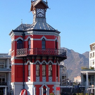 """The Waterfront Clock Tower"", Victoria & Alfred Waterfront   Cape Town, RSA - et ikonisk bygg!"