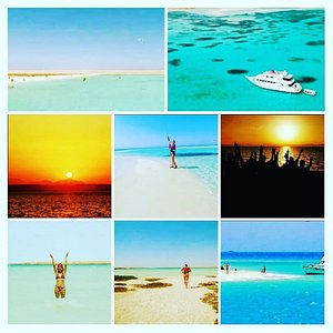 Tawilla Island - Elgouna -  The virgin Island. Great time for relax and enjoy the nature also very good for kitting