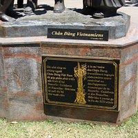 Quartier Asiatique Monument aux Chang Dang Vietnamiens ; socle et histoire