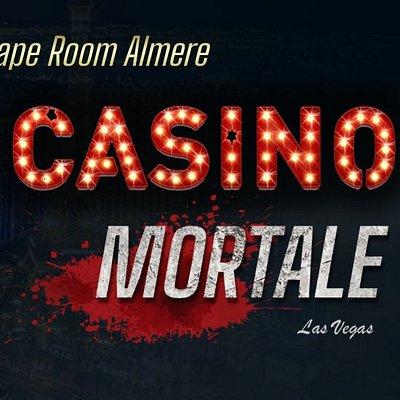 Sky High Escape Room, Room Casino Mortale Logo