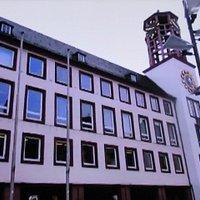 市庁舎の全景