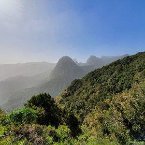 widok na Los Roques z północy
