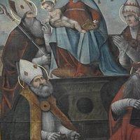 Dipinto Madonna con Bambino tra i Santi