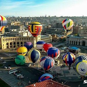 Yerevan is the capital of Armenia, a city of sun and love.