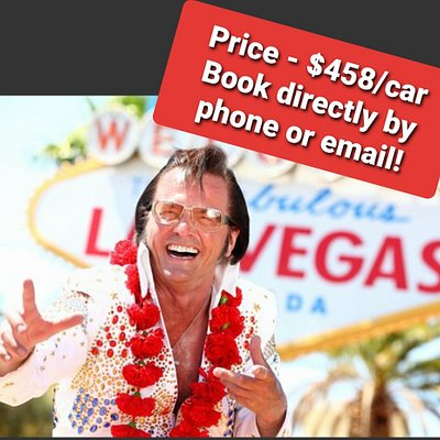 Book directly with Eddie Powers by phone or email. Total price for tour $458 per car.