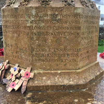 6.  Winchelsea War Memorial, St Thomas the Martyr Church, Winchelsea, East Sussex