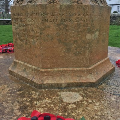 10.  Winchelsea War Memorial, St Thomas the Martyr Church, Winchelsea, East Sussex