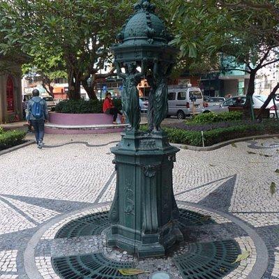Wallace Fountains at Jardim de Sao Francisco