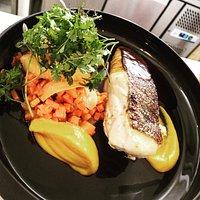 Cabillaud / Carottes / Gastrique de poisson