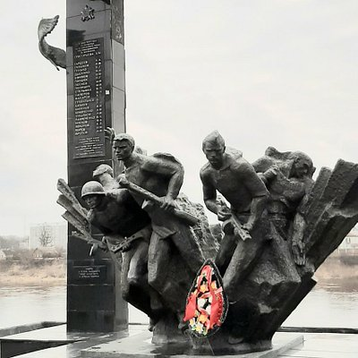 Памятник 23-м воинам Гвардейцам