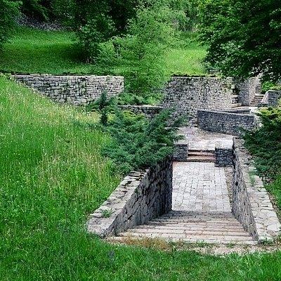 Particolare del cimitero