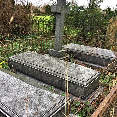 19.  St Peter and St Paul Church, Wadhurst, East Sussex; the graves of the Croft family