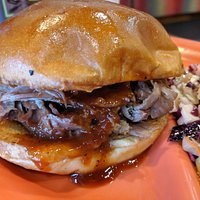Nothing better than a pulled pork sandwich