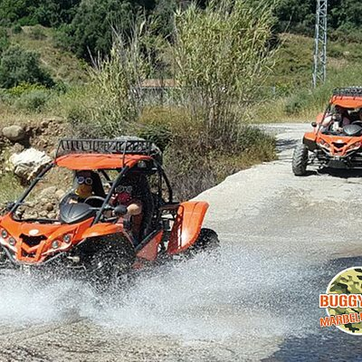 QUALITY IN EVERY DETAIL, what we stand for at BUGGY FUN MARBELLA. 👍👍 10 years of experience with buggies in Spain have convinced us to invest in the best buggies. 🥇🥇  Our motto is : HAVE FUN WITH BUGGY FUN MARBELLA ! Do you want to make a REAL FUN tour as well in the coming days?  Check our website www.buggyfunmarbella.com or call us at +34678566827 or send us a WhatsApp message.  See you soon 🔆🔆🔆 Cyriel Raes