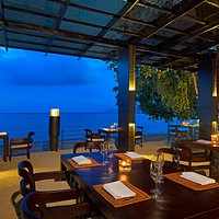 Experience unique dining experience overlooking the magnificent Datai Bay.
