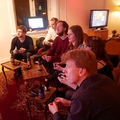 Hygge and games with your friends