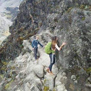 Barranco wall #4200m above the sea level #kilimanjaro national park #the kissing rock