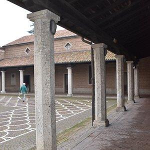 portico del sagrato