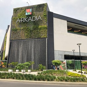 Arkadia from the outside