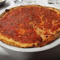 Una buona pizza marinara dopo teatro è la cosa migliore per terminare bene la serata.