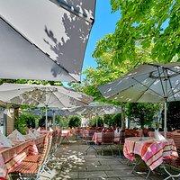 Gartenterrasse Hotel Hasen