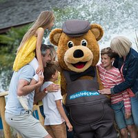 Make sure you grab a photo with Wicky Bear and give him a hug!