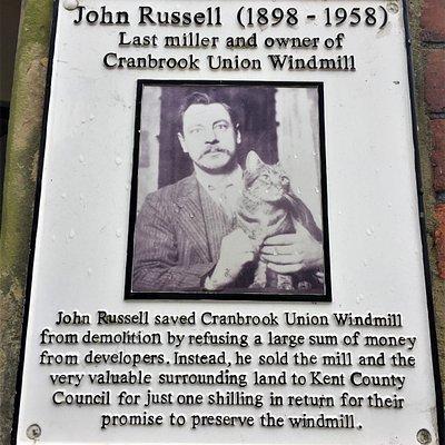 27.  High Weald Landscape Trail, Cranbrook, Kent;  the Union Windmill