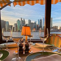 View of manhattan from The River Café