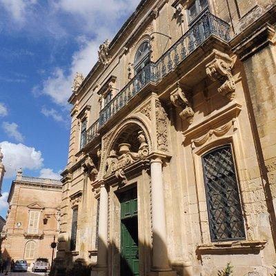 Façade baroque