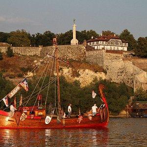 Svibor Medieval Knight Boat Slavjana
