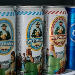 Algunas de nuestras cervezas importadas