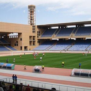 Kawkab Marrakech v Wydad Fes at the Grand Stade de Marrakech, March 2020