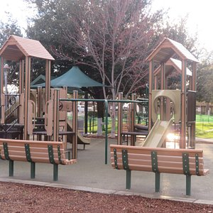Playground, Brentwood City Park, Brentwood, Ca