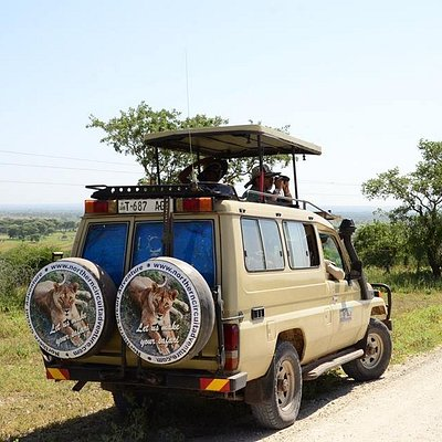 Transport 4x4 Toyota Land Cruiser with a pop-up roof.