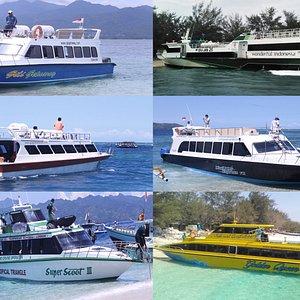 Agency Ticket Fastboat From Gili Island To Bali(Serangan, Sanur, Padangbay, Amed, Nusa Lembongan and Nusa Penida)