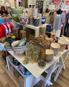 Terrific homewares section in Jay on the Bay