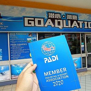 Go Aquatic dive center office located at Lot G30, ground floor, Wisma Sabah, Kota Kinabalu city center. We are next to Suria Sabah shopping mall and Gaya Center Hotel.