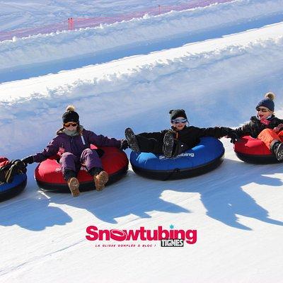 Snowtubing: la glisse gonflée à bloc!!
