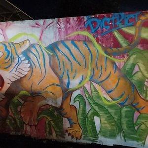 Graffiti Art Bandar Penggaram