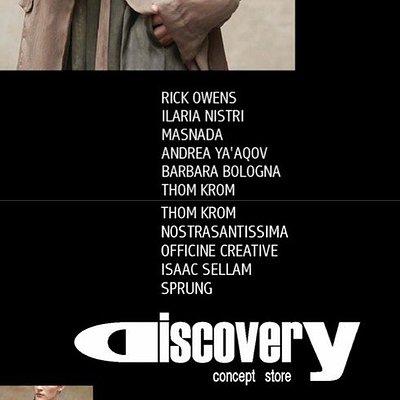 Multi Brand Boutique - ANDREA YA'AQOV•BARBARA BOLOGNA•RICK OWENS•OFFICINE CREATIVE•ISAAC SELLAM•NOSTRASANTISSIMA•MASNADA•ILARIA NISTRI•SPRUNG FRERES...