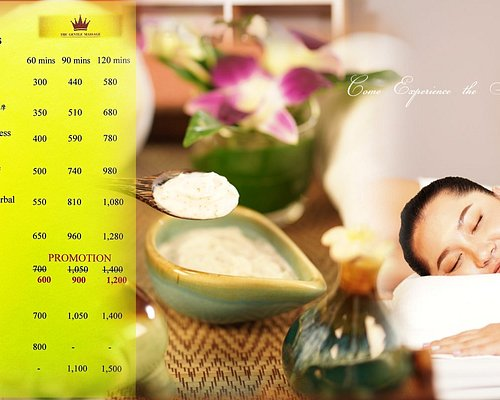 Love and Relaxation menu