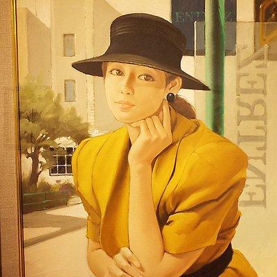 素敵な美人画。