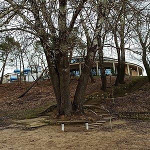 Widok od strony Jeziora Durowskiego