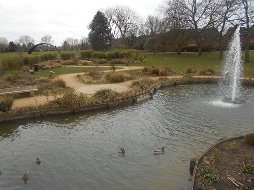 Part of the Memorial Garden