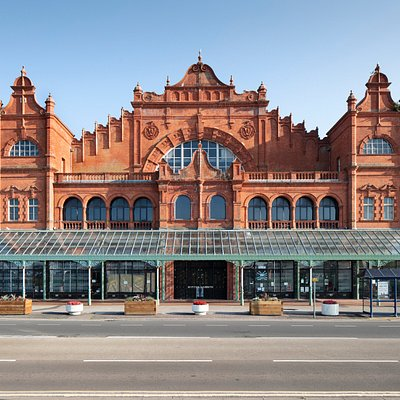 Front of Morecambe Winter Gardens