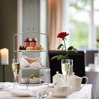 Afternoon Tea, served on British made Fine Bone China