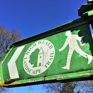 1.  The High Weald Landscape Trail, Cranbrook, Kent