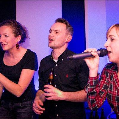 Zing samen met de mensen waar je echt mee wil feesten en zingen !